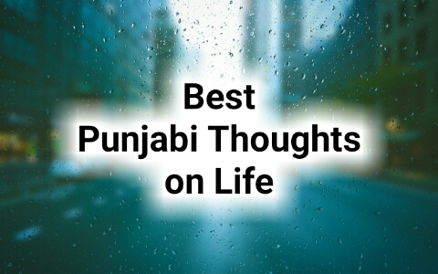 Best Punjabi Thoughts on Life