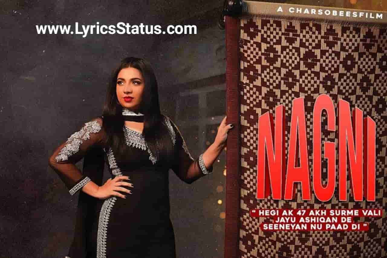 Jasmine Sandlas new song Kaali Nagni Lyrics status download