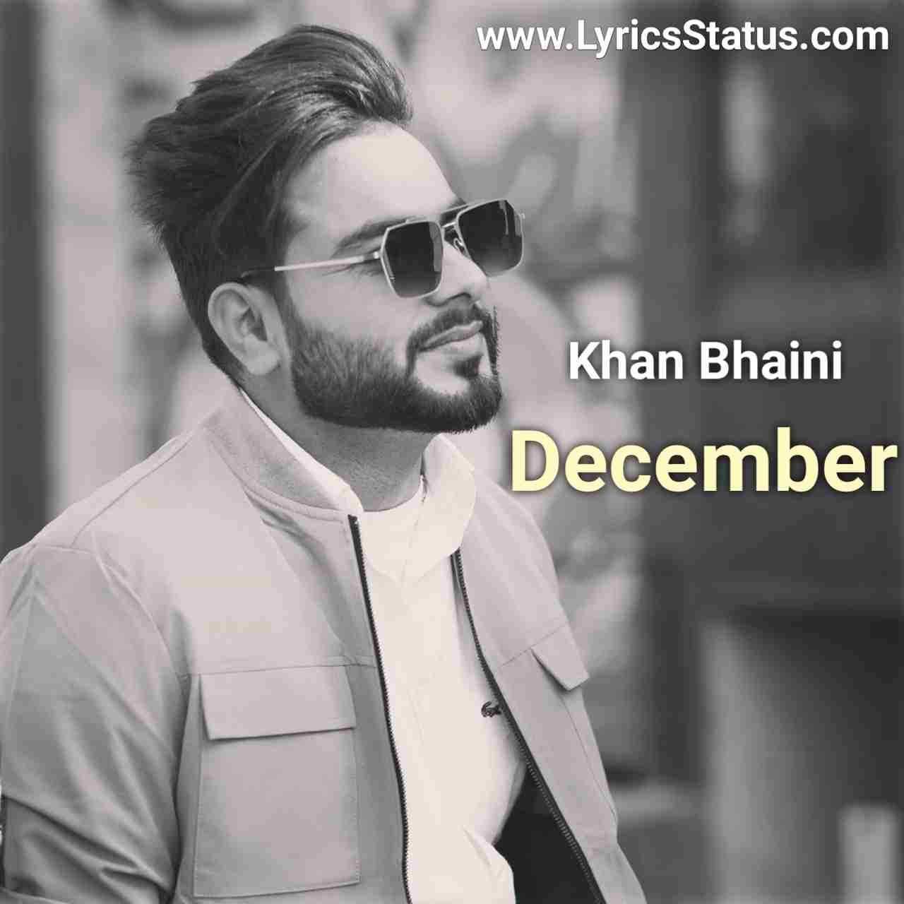 Last December de din balliye Khan Bhaini Lyrics status download