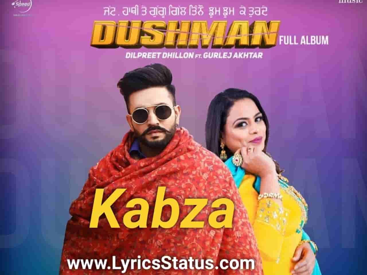 Jatt kabze len da shonki Dilpreet Dhillon Lyrics status download