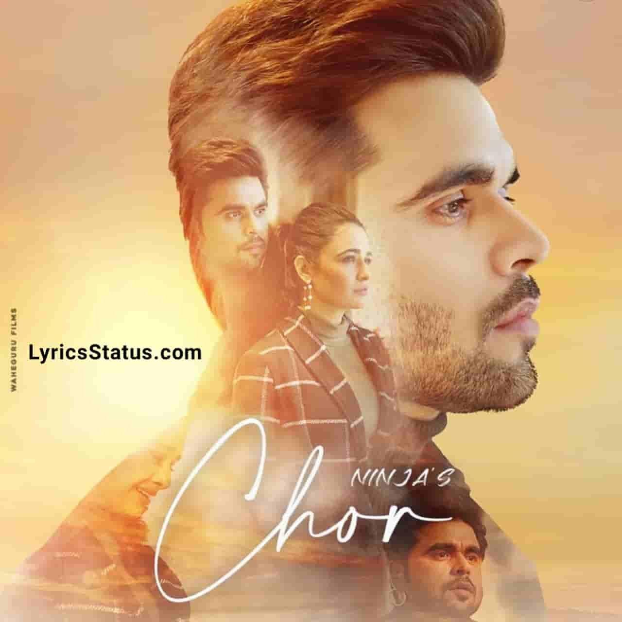 Ninja New Song Chor Lyrics Status Download Punjabi Song Je main nai reh sakdi tere bin Dil tera vi ni laggna status video Black Background Video