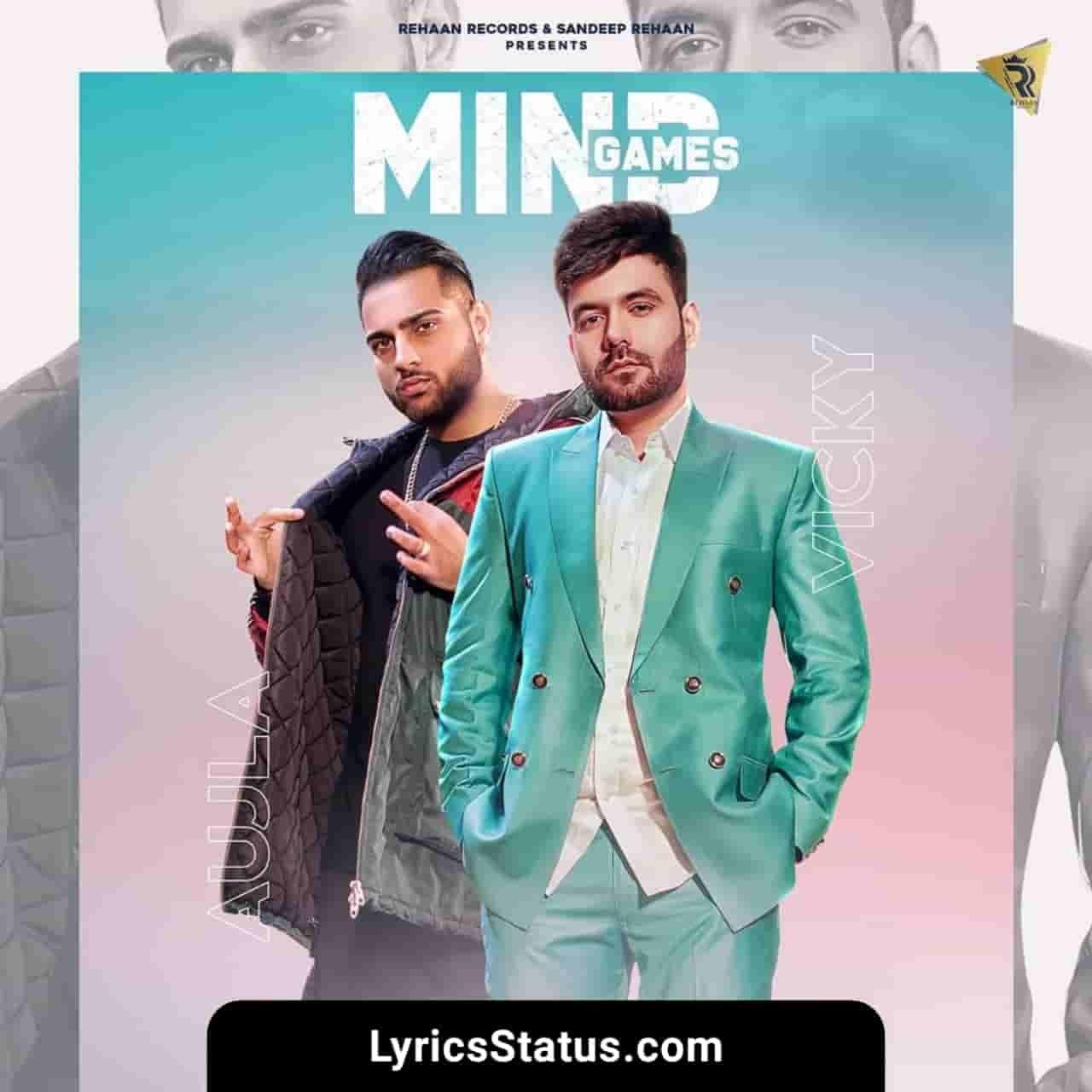 Vicky Mind Games Karan Aujla Lyrics status download punjabi song Main taan dil de naal dil firda si laun nu Tu taan dil te dimag la gayi black status