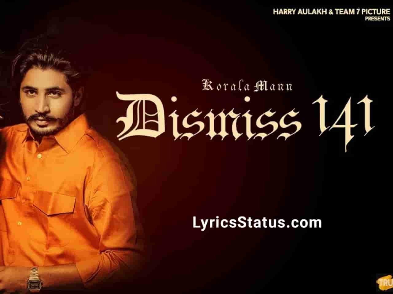 Dismiss 141 Korala Maan Lyrics Status Download Punjabi Song Ungli Utte Dagg Ta Allhade Saade Challe Da Mundri Da Main Sunya Naap Tu Degi Gairan Nu