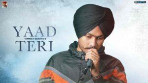 Yaad Teri Himmat Sandhu Lyrics Status Download Punjabi Song Vass ni chalda yaad teri Tere magre magre tor dinda Wass ni chalda whatsapp status video Black Background Status