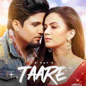 A Kay Taare Lyrics Status Download Punjabi Song ni tu tare gindi gindi kudiye chann gawa lengi WhatsApp status video black background