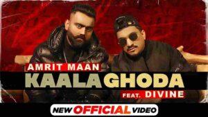 Divine Kaala Ghoda Amrit Maan Lyrics Status Download kala ghoda chite chine riflan kalian kaliyan gun da baby mang la baby chad kana diyan