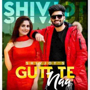 Shivjot Gutt Te Naa Lyrics Status Download Song ho giya khadaka thode pind balliye ni viche mera bolda ae naa WhatsApp video black background